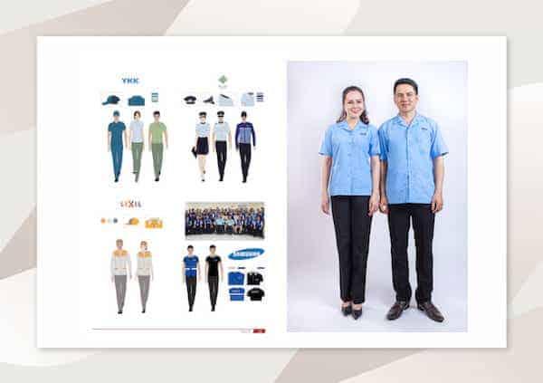 Dự án đồng phục Công nhân YKK