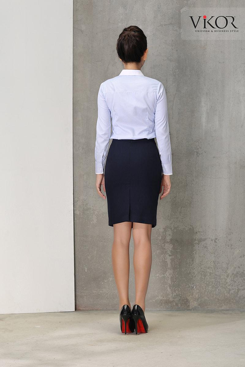 Đồng phục VW21634 dành cho nữ công sở cao cấp
