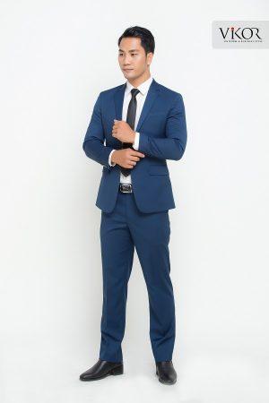 Quần tây nam VM31608 màu xanh tôn da người mặc