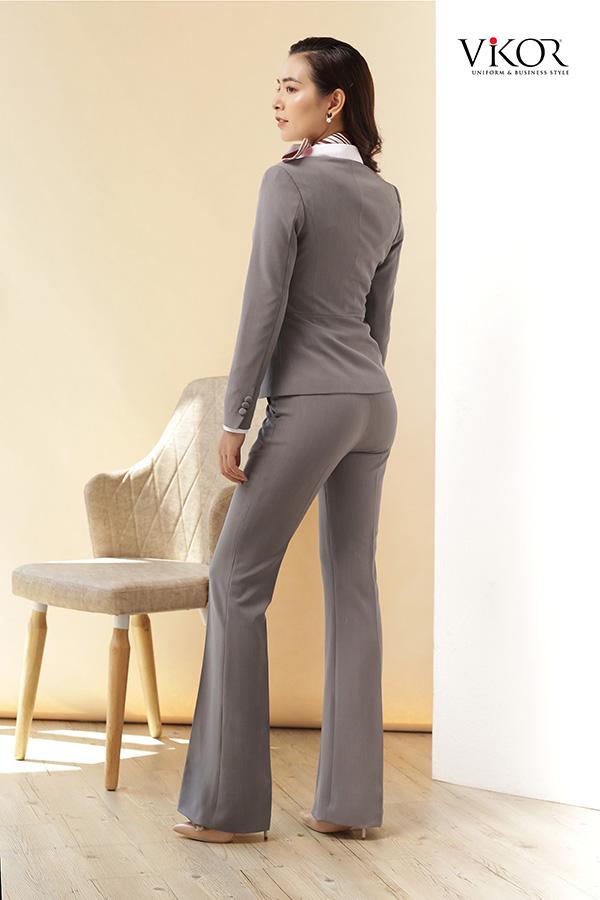 Mẫu Quần nữ VW32015 kết hợp vest vô cùng hấp dẫn