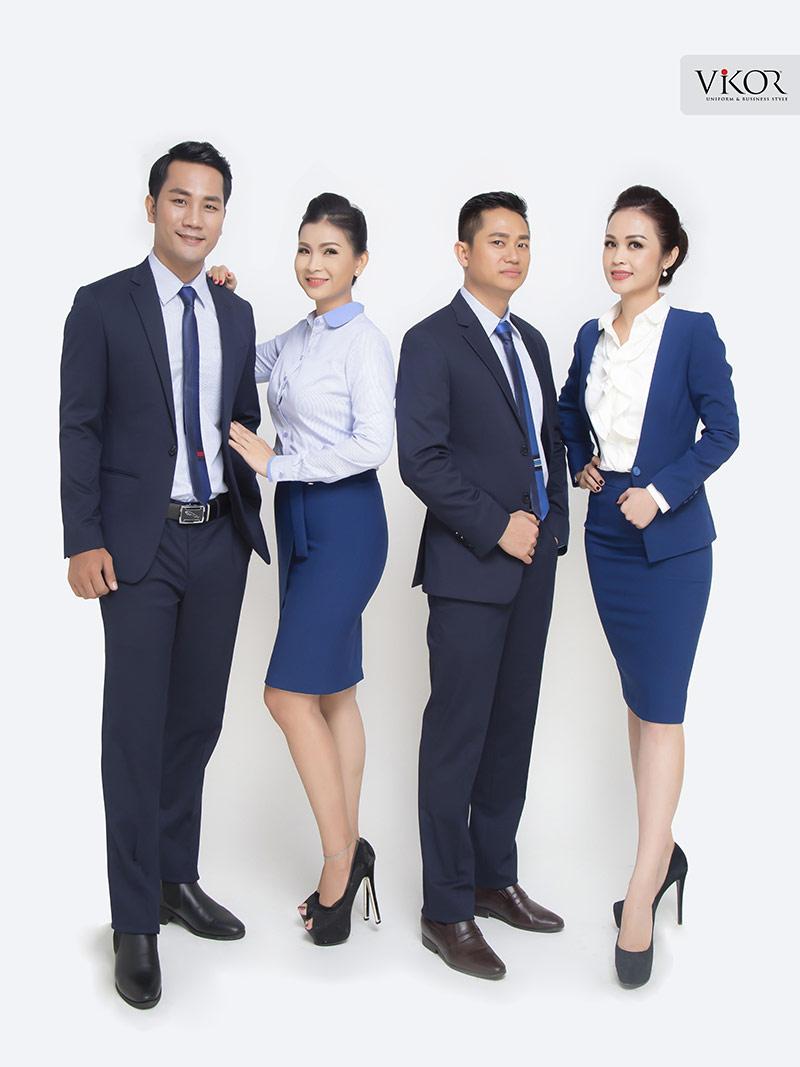 Đồng phục công sở nam nữ đẹp