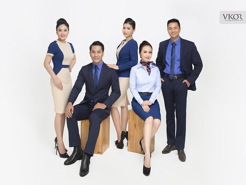 Đồng phục công sở với các thiết kế dành riêng cho từng vị trí công việc