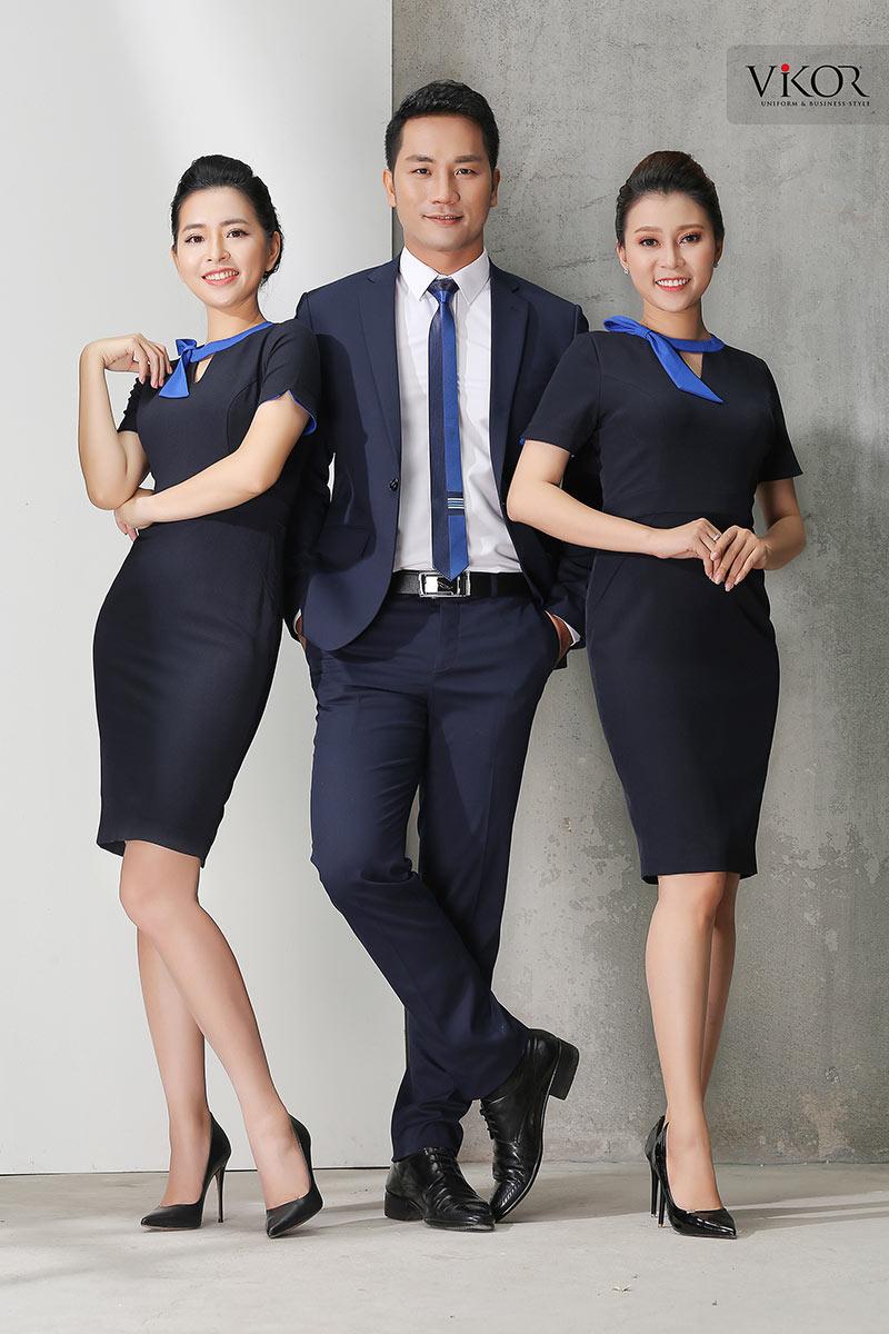 Mẫu đồng phục công ty đẹp