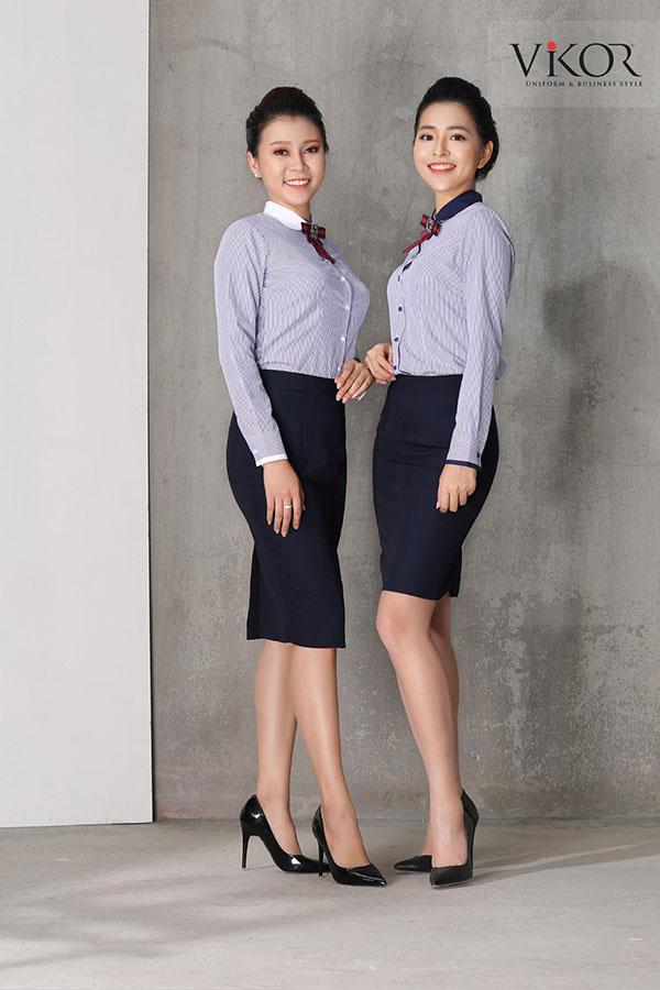 Áo sơ mi đồng phục công sở nữ VIKOR