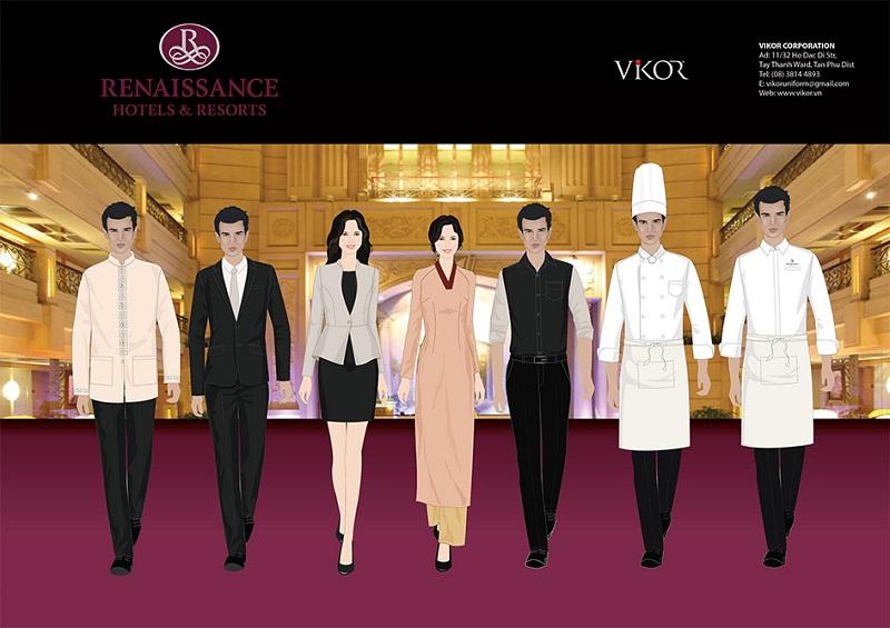 Thiết kế đồng phục khách sạn Renaissance