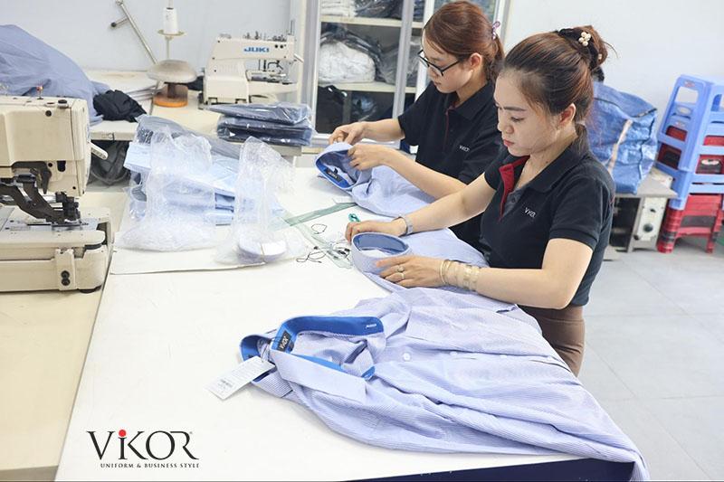 Quy trình đóng gói sản phẩm giao hàng tại VIKOR