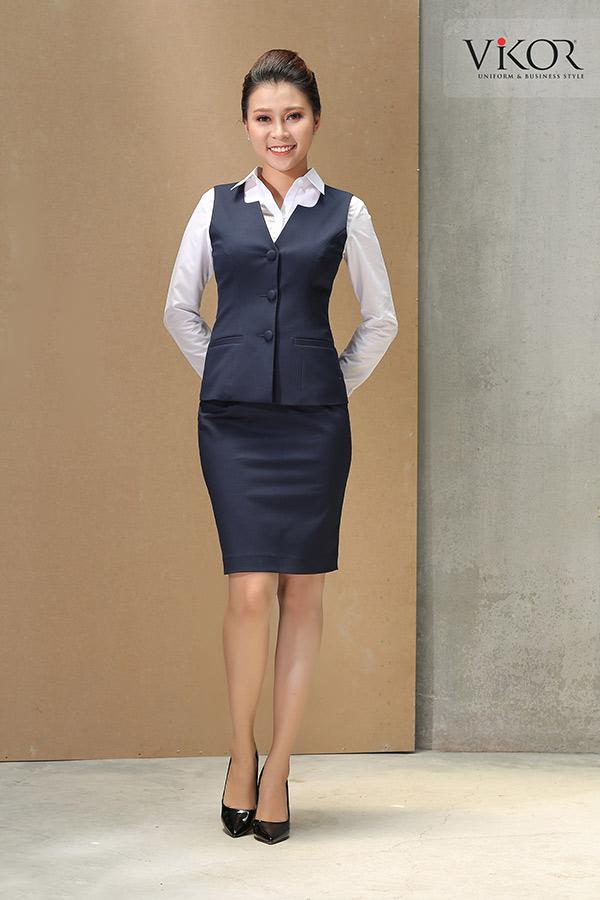 Đồng phục gile công sở nữ