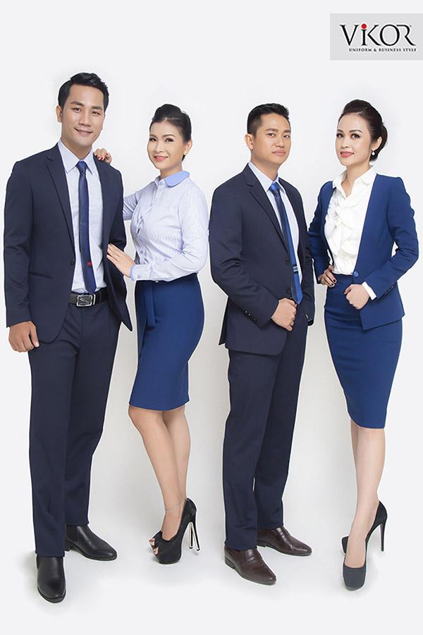 Đồng phục đồ vest công sở thể hiện sự đẳng cấp