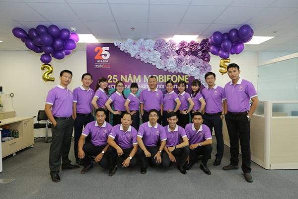 Đồng phục công sở cho nam và nữ thun phông màu tím
