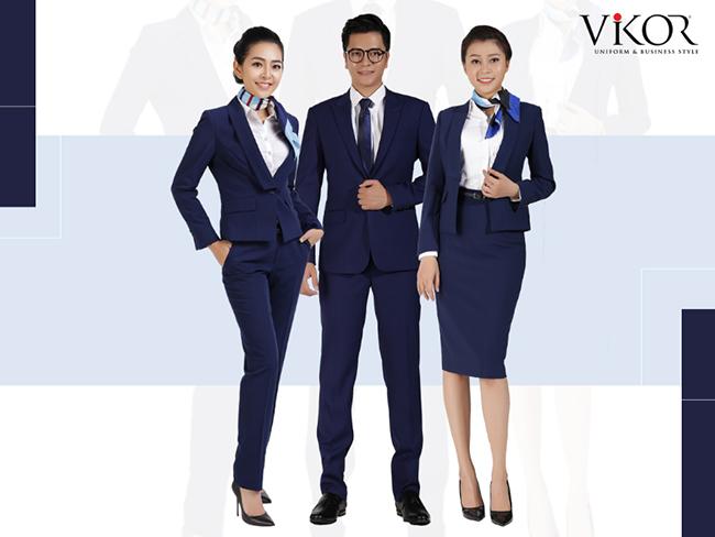 Đồng phục vest công sở nam nữ đồng bộ