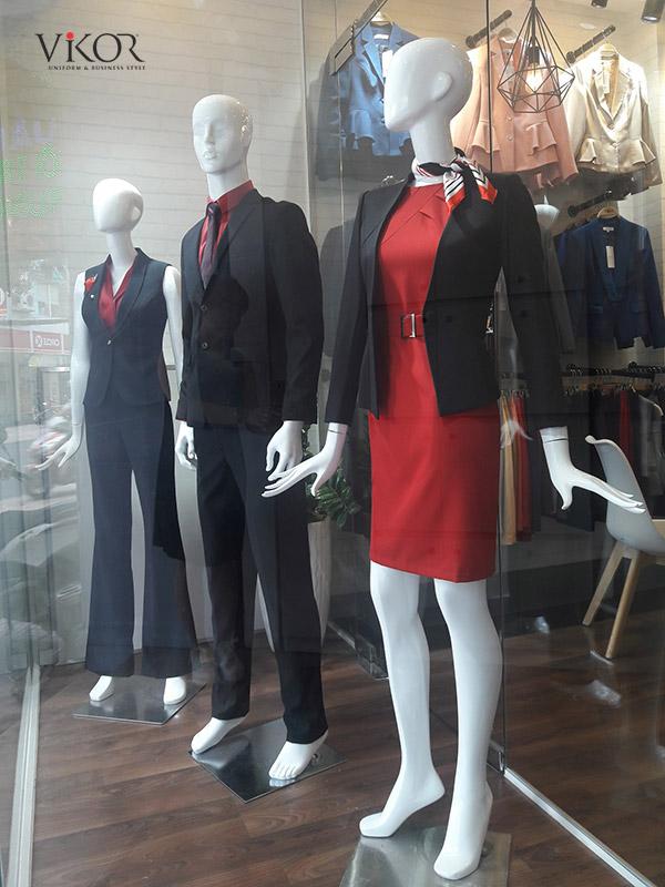 Đến showroom VIKOR để được trải nghiệm sản phẩm đồng phục chất lượng nhất