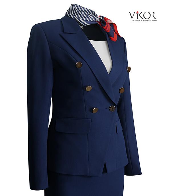 Vest đồng phục nữ VIKOR
