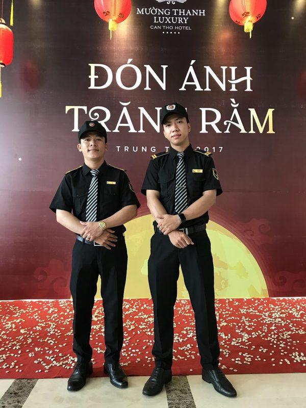 Đồng phục nhân viên an ninh khách sạn