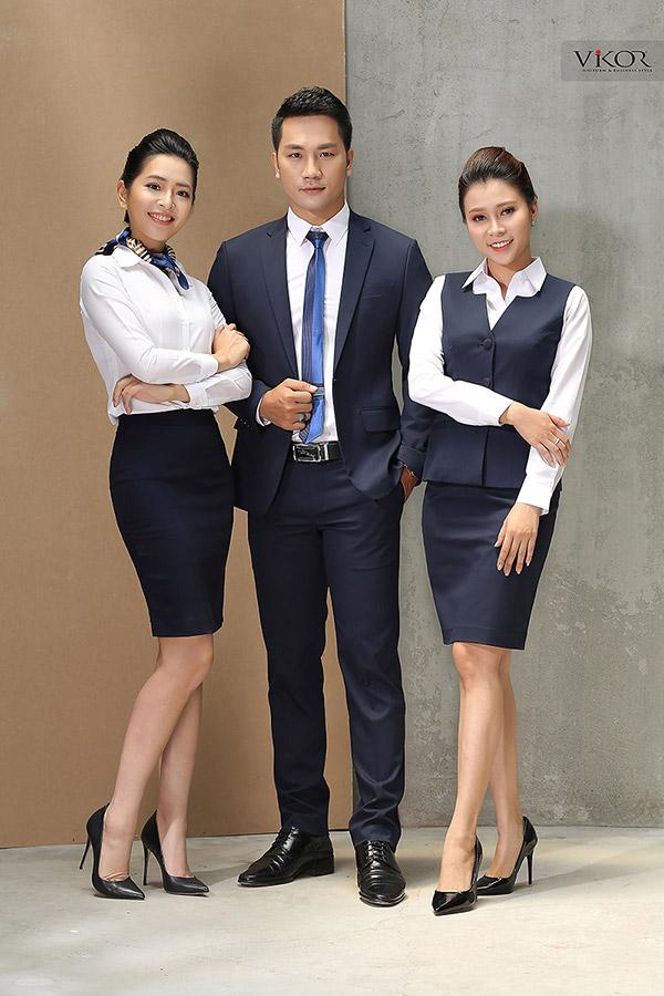 Các mẫu đồng phục quản lý khách sạn cho nam và nữ
