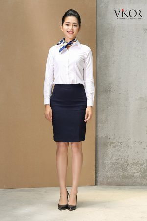 Đồng phục công ty mẫu 001 của nữ