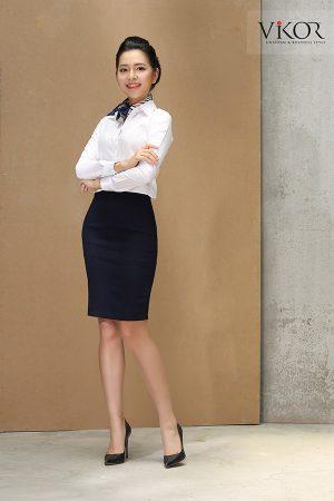 Đồng phục công ty mẫu 001 nữ đẹp