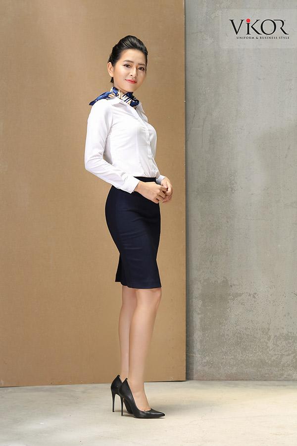 Đồng phục công ty mẫu 001 của nữ đẹp