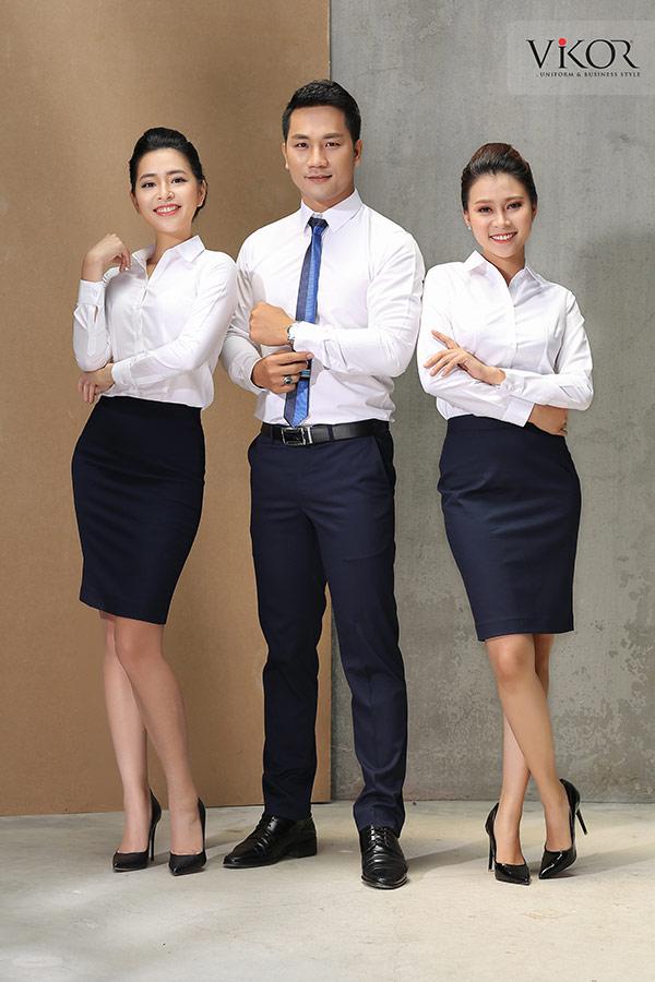 Đồng phục công ty mẫu 001