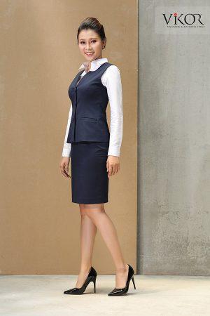 Đồng phục công ty mẫu 002 nữ đẹp