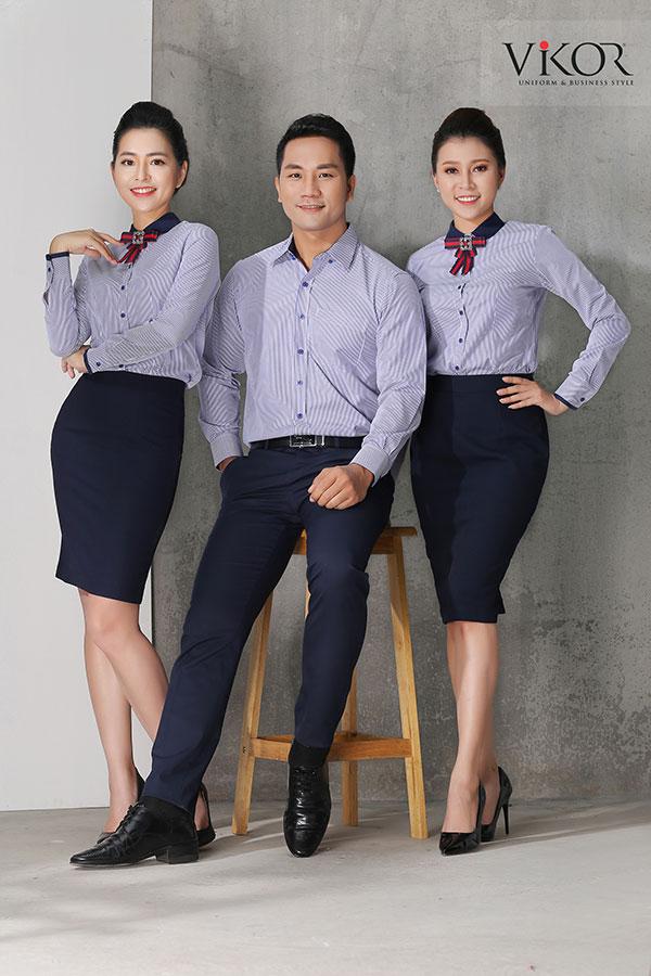 Đồng phục công ty mẫu 004 đẹp