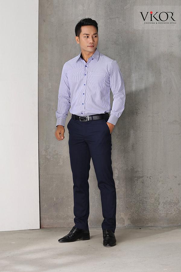Đồng phục công ty mẫu 004 nam đẹp