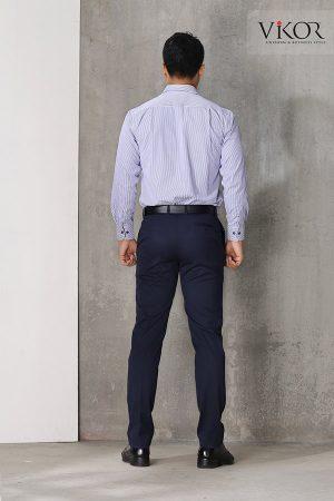 Đồng phục công ty mẫu 004 nam nhìn từ phía sau