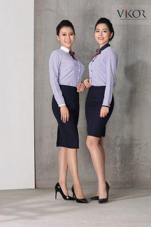 Đồng phục công ty mẫu 004 nữ