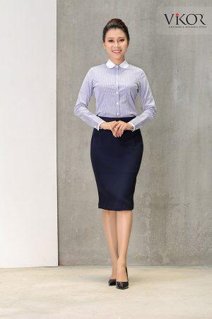 Đồng phục công ty mẫu 004 nữ mẫu 2