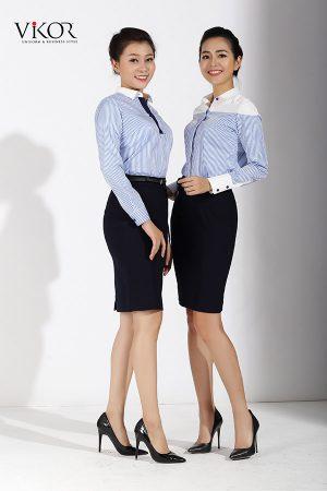 Đồng phục công ty mẫu 007 nữ