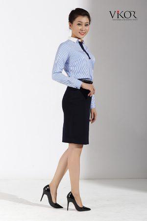 Đồng phục công ty mẫu 007 cho nữ mẫu 2
