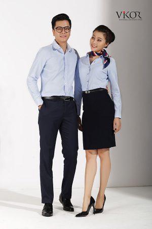 Đồng phục công ty mẫu 008