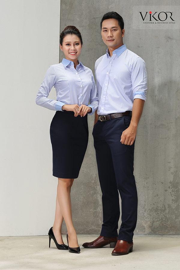 Đồng phục công ty mẫu 009