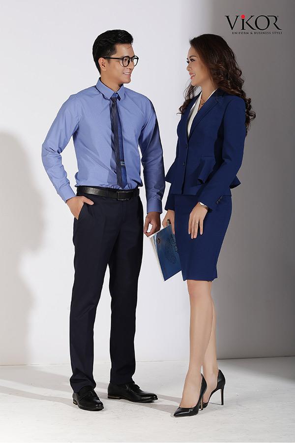 Đồng phục công ty mẫu 010 đẹp
