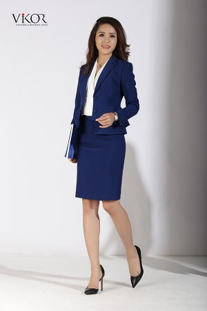 Đồng phục công ty mẫu 010 nam nữ