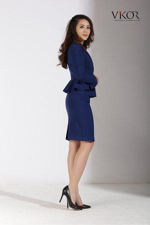 Đồng phục công ty mẫu 010 nam nữ đẹp
