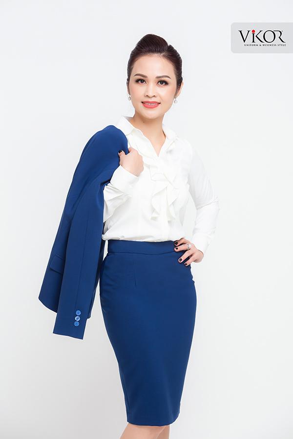 Đồng phục công ty mẫu 011 nữ