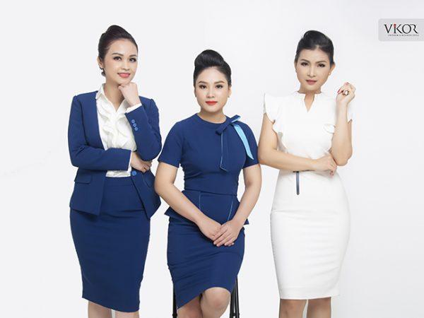 Đồng phục công ty mẫu 012 cho nữ