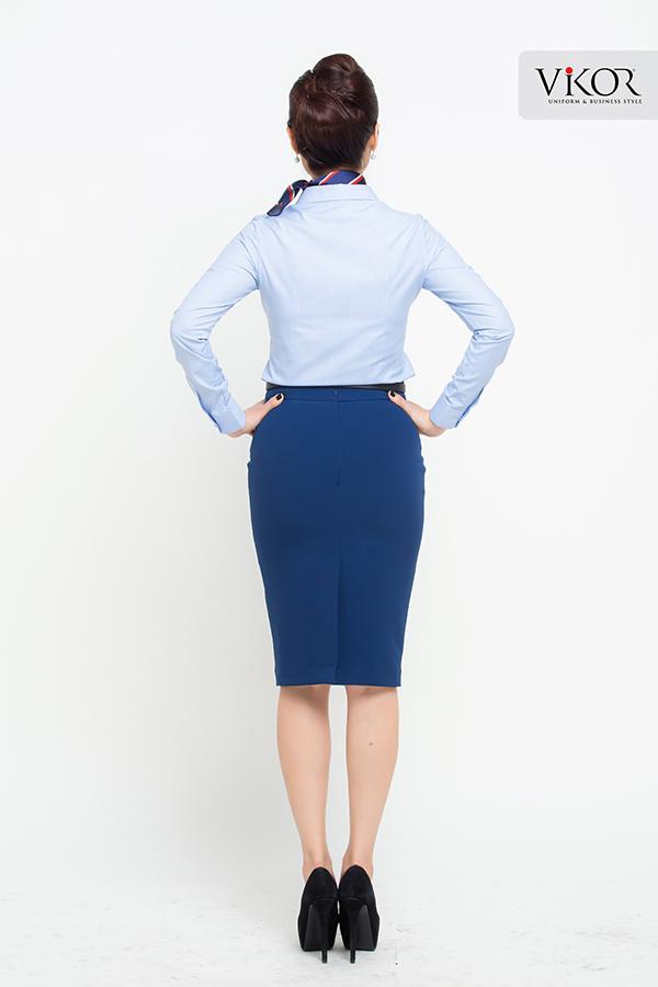 Đồng phục công ty mẫu 013 cho nữ