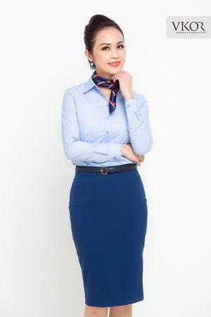 Đồng phục công ty mẫu 014 nữ đẹp