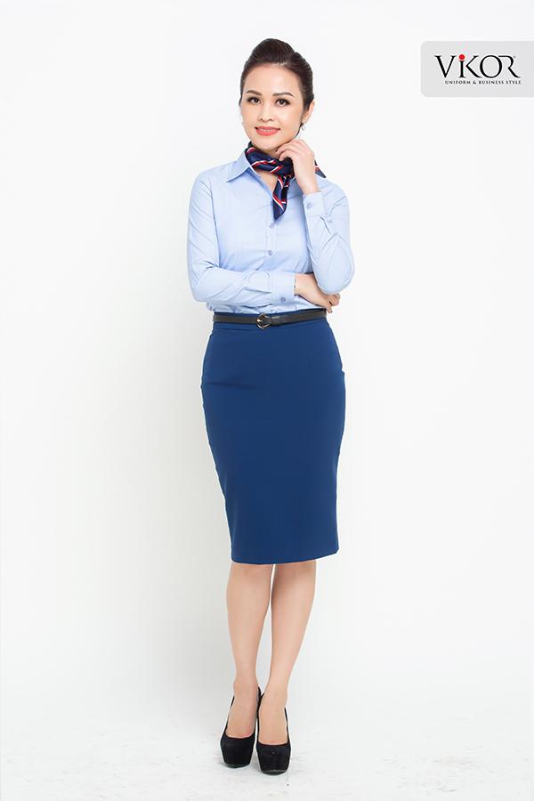 Đồng phục công ty mẫu 014 nữ