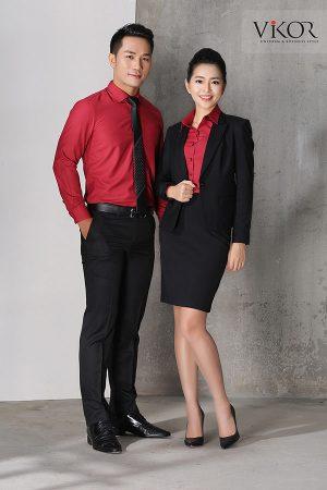 Đồng phục công ty mẫu 016