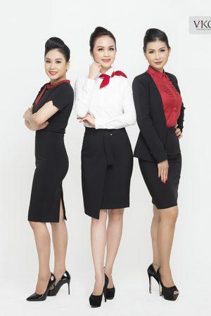 Đồng phục công ty mẫu 018 cho nữ