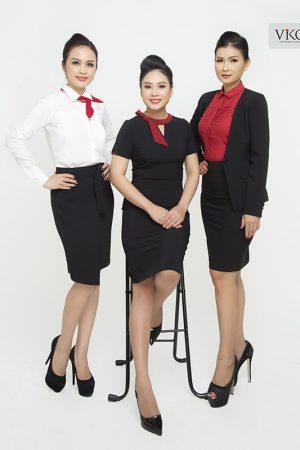 Đồng phục công ty mẫu 018 của nữ