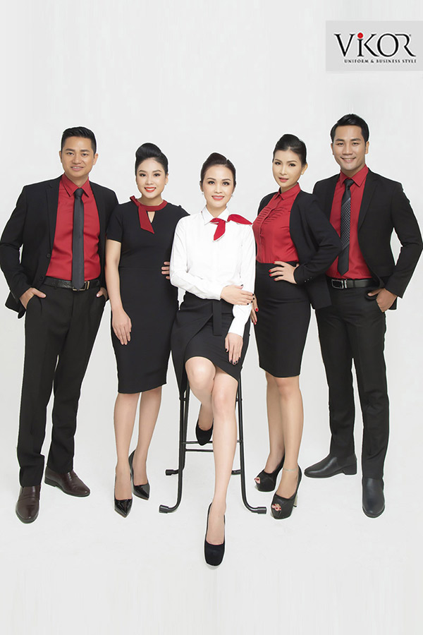 Đồng phục công ty mẫu 018