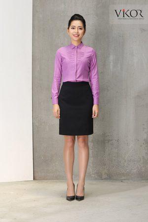 Đồng phục công ty mẫu 019 cho nữ