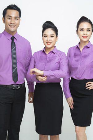 Đồng phục công ty mẫu 019 nam nữ