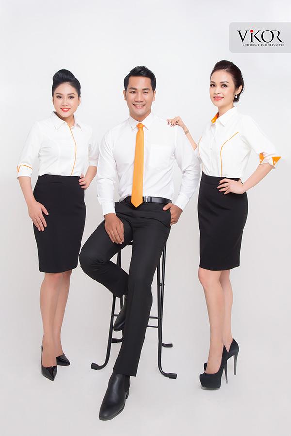 Đồng phục công ty mẫu 020 đẹp