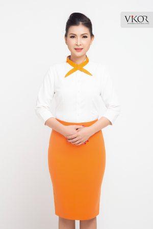 Đồng phục công ty mẫu 021 cho nữ