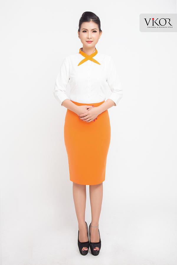 Đồng phục công ty mẫu 021 của nữ