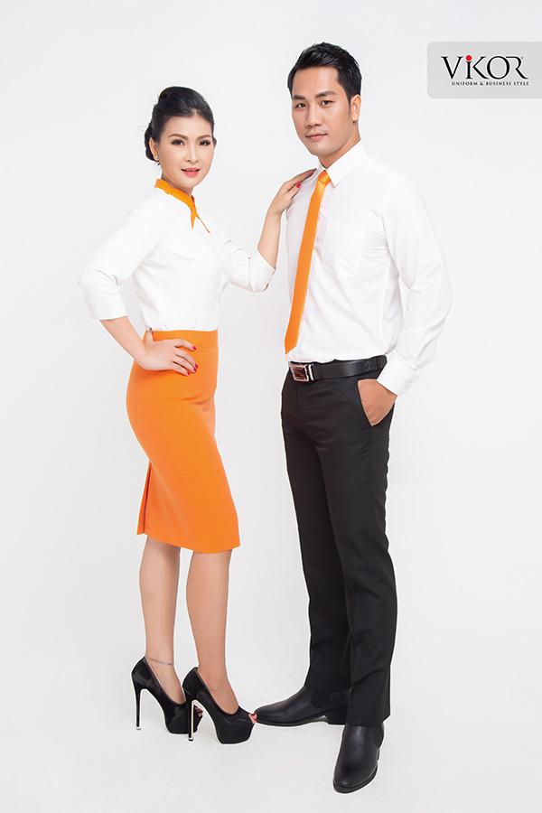 Đồng phục công ty mẫu 021